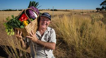 Stunted Buntine looks to vegies for growth