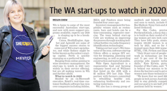 The WA Start-Ups to Watch in 2020